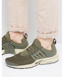 Nike | Зеленые Кроссовки Air Presto Essential 848187-301