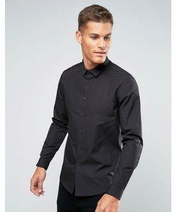 Asos | Черная Рубашка Классического Кроя