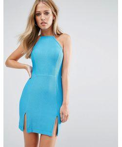 Rare | Платье Со Спинкой-Борцовкой И Разрезом Спереди