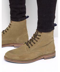 Asos | Замшевые Ботинки На Шнуровке