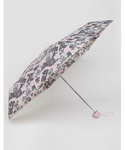 Totes | Миниатюрный Зонт С Принтом Роз