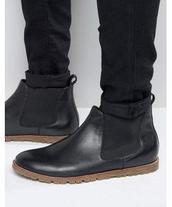 Frank Wright | Черные Кожаные Ботинки Челси