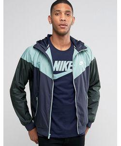 Nike | Синяя Ветровка 727324-454