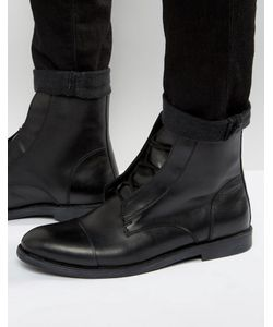 Zign | Кожаные Ботинки На Шнуровке