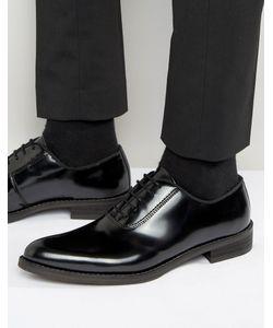 Zign   Блестящие Кожаные Оксфордские Туфли