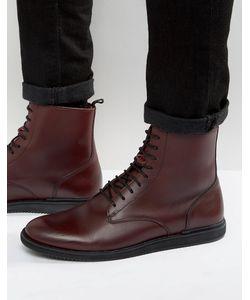 Zign   Кожаные Ботинки На Шнуровке