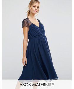 ASOS Maternity | Кружевное Платье Миди Kate