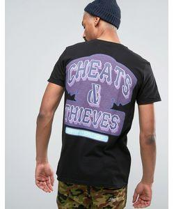 Cheats & Thieves | Футболка С Принтом