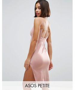 ASOS PETITE | Платье Миди С Завязкой Сзади