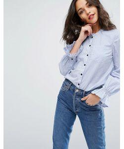 Vero Moda | Рубашка На Пуговицах С Рюшами На Рукавах