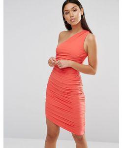 AX Paris | Облегающее Платье На Одно Плечо