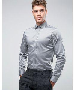 Jack & Jones | Узкая Рубашка Из 100 Хлопка Premium