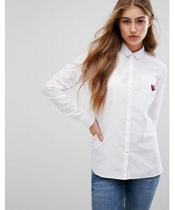 Tommy Hilfiger | Оксфордская Рубашка С Нашивкой