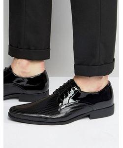Asos | Черные Лакированные Туфли Дерби