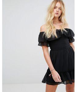 Hollister | Платье В Стиле Бохо С Открытыми Плечами