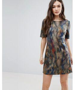 Lavand. | Короткое Приталенное Платье С Принтом Lavand
