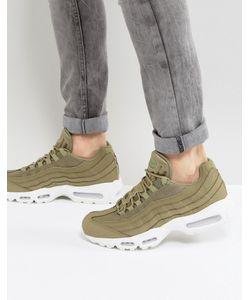Nike | Зеленые Кроссовки Air Max 95 749766-201