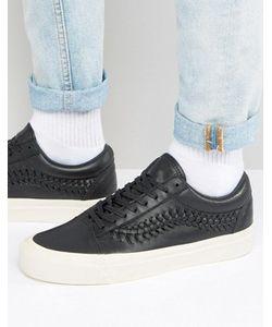 Vans | Черные Кроссовки Old Skool Weave Pack Va38g9l3a