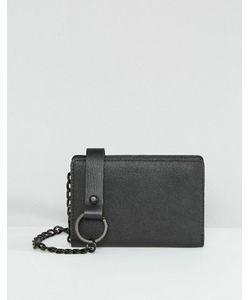 Asos | Кожаный Бумажник С Цепочкой