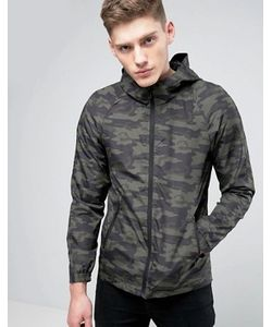 Only & Sons | Light Weight Hooded Jacket In Camo Print