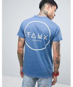 Friend or Faux | Футболка С Принтом На Спине Crescent