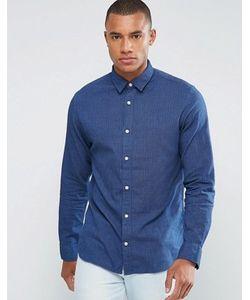 Selected Homme | Рубашка Классического Кроя В Тонкую Полоску