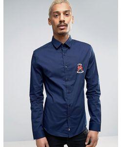 Love Moschino | Рубашка С Вышивкой На Груди