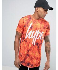 HYPE | Футболка С Логотипом И Принтом