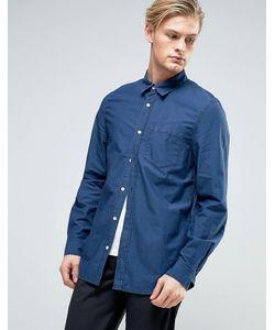 Weekday   Синяя Джинсовая Рубашка Class