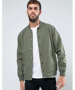 Farah | Зеленая Нейлоновая Куртка-Пилот Bellinger