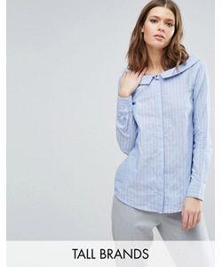 Y.A.S Tall | Рубашка В Полоску С Вырезом Лодочкой