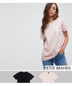 New Look Petite | 2 Футболки Бойфренда