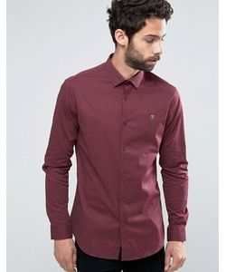 Farah | Приталенная Рубашка Manderson