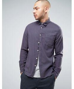 Asos | Серая Рубашка Классического Кроя