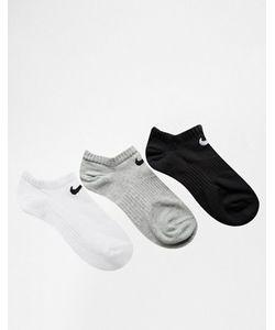 Nike | 3 Пары Легких Носков No Show