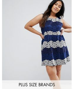 Yumi Plus | Кружевное Платье