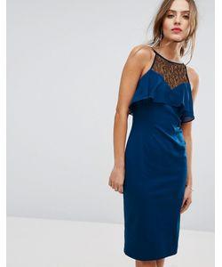 BCBGMAXAZRIA | Облегающее Платье С Рюшами Bcbg Illusion
