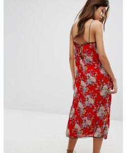 WYLDR | Платье-Комбинация Макси С Цветочным Принтом Castaway