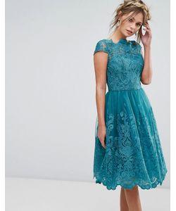 Chi Chi London | Кружевное Платье Миди