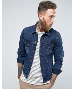 Nudie Jeans Co | Джинсовая Куртка Цвета Темного Индиго Billy