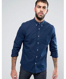 Ben Sherman | Однотонная Оксфордская Рубашка Классического Кроя