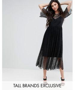 Y.A.S Tall   Кружевное Платье Миди Amina