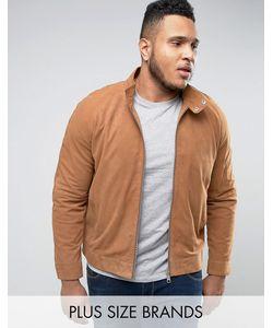 Barney's Originals | Замшевая Байкерская Куртка Barneys Plus Premium