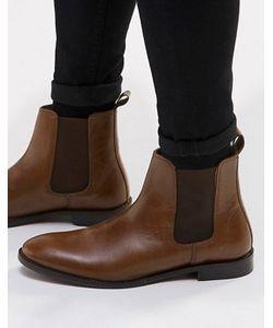 Asos   Кожаные Ботинки Chelsea
