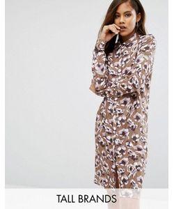 Y.A.S Tall | Платье-Рубашка С Принтом