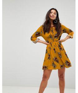 Club L   Цельнокройное Платье С Цветочным Принтом
