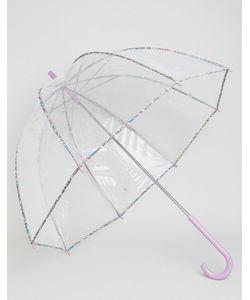 Totes | Зонт Из Пвх С Принтом В Мелкий Цветочек На Окантовке