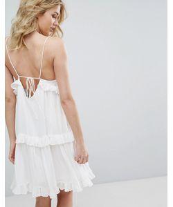 Vero Moda | Платье С Ярусными Оборками