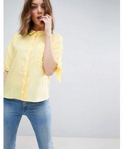 Asos | Свободная Рубашка С Завязками На Рукавах