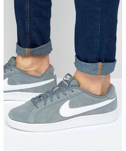 Nike | Замшевые Кроссовки Court Royale 819802-010